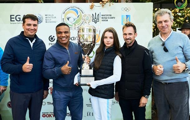 Беленюк нагородив переможців Кубка України з гольфу