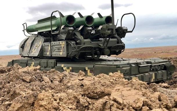 ВСУ провели боевые стрельбы из ЗРК Бук-М1