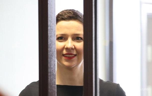 Білоруська опозиціонерка Колесникова стала лауреатом премії Гавела
