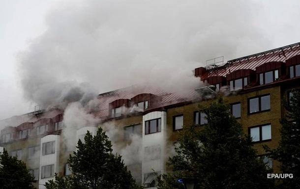 В шведском Гетеборге при взрыве пострадали более 20 человек