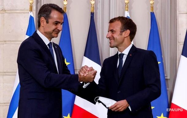 Греція домовилася про закупівлю фрегатів у Франції