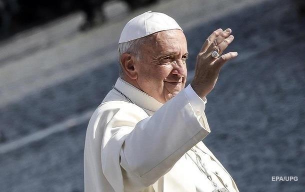Папа Франциск планирует приехать в Украину - СМИ