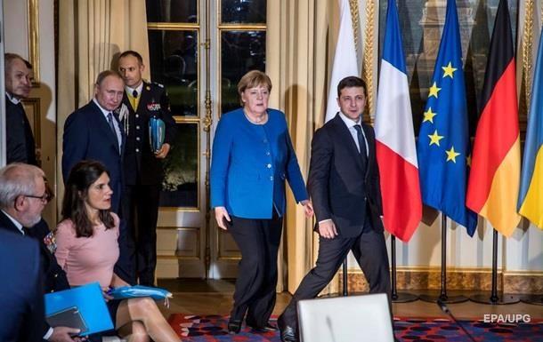 МИД назвал выгоду от встречи  Нормандии  с Меркель