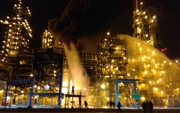 У Білорусі сталася пожежа на нафтозаводі