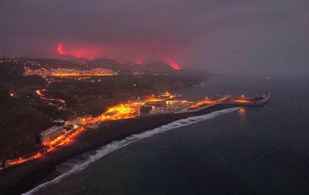 Вулкан Ла-Пальма: лава виділяє токсичний газ