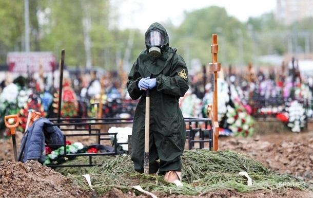В России вторые сутки подряд рекордная смертность от COVID-19
