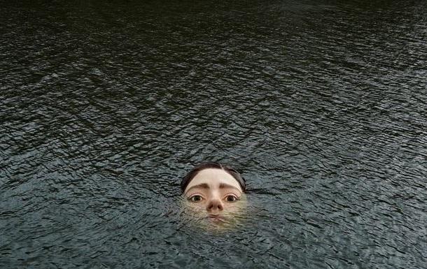 Жителів Більбао налякало обличчя дівчини в річці