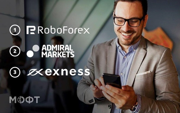 Робофорекс лидирует в рейтинге лучших Форекс брокеров Украины 2021