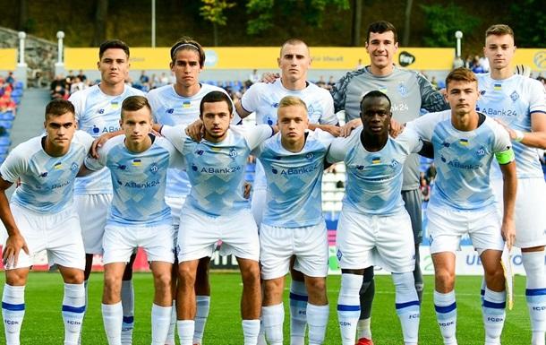 Динамо розгромило Баварію в рамках Юнацької Ліги чемпіонів