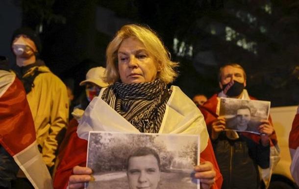 У Києві вшанували пам ять убитого в Мінську білоруса