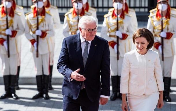 Президент Німеччини пообіцяв Молдові підтримку Берліна