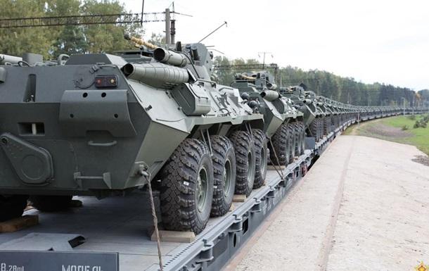 Росія почала поставки БТР-82А до Білорусі
