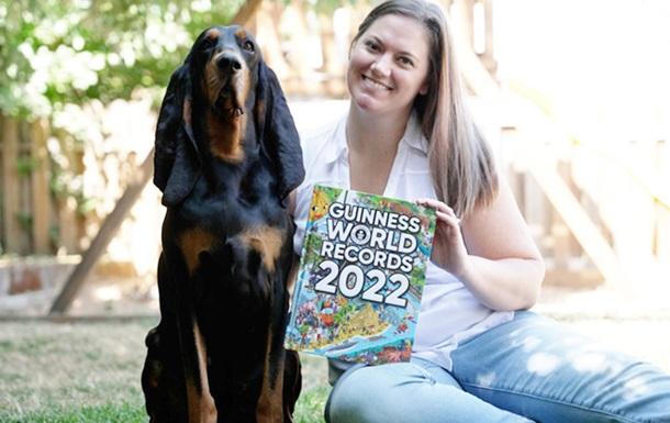 Собака из США стала рекордсменом по длине ушей