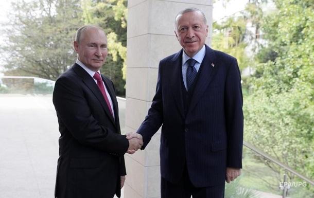 Путін висловив бажання співпрацювати з Туреччиною в космосі - Ердоган