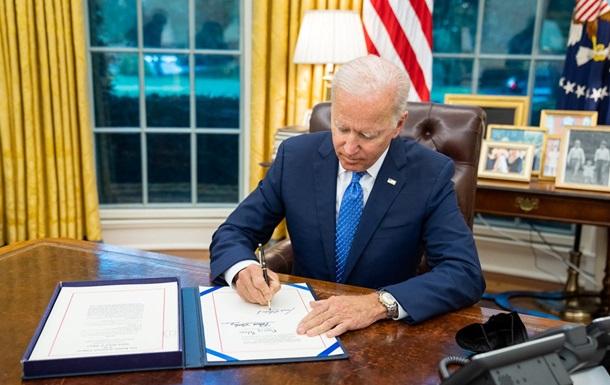 Байден підписав тимчасовий бюджет США