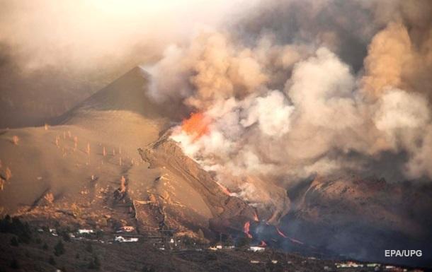На вулкані на Пальмі відкрилася нова тріщина