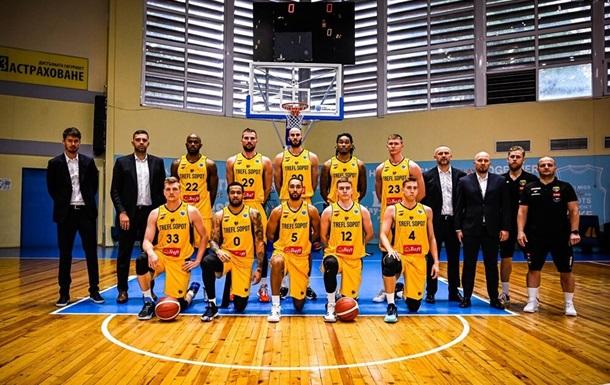 Стали відомі суперники Київ-Баскет на Кубку Європи ФІБА
