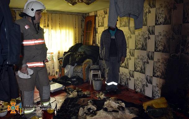У Дніпрі під час пожежі на 1 кв. м загинули двоє людей
