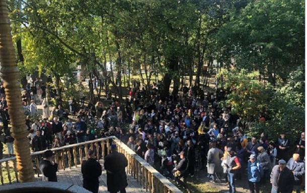 У Києві відбувся Марш Пам яті жертв Бабиного Яру