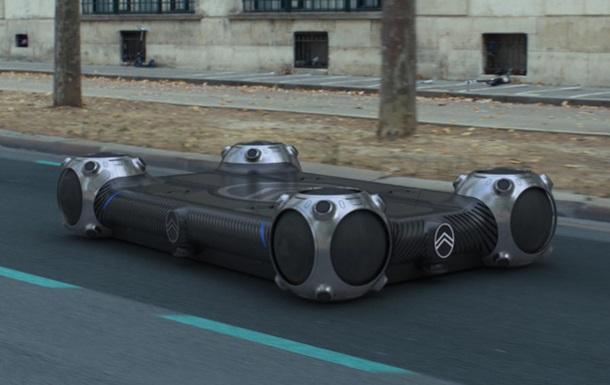Citroen показал беспилотные платформы для города