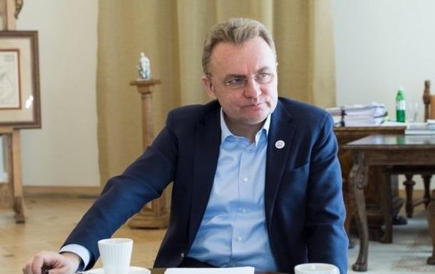 Садовый заявил о вхождении Львова в красную зону карантина