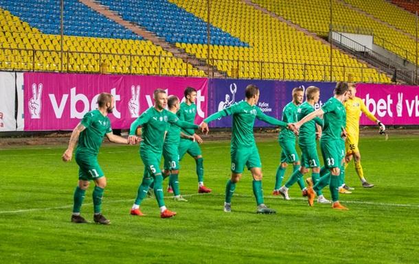 Курйозний гол у Першій лізі України