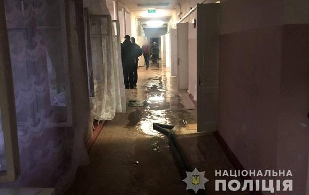При пожаре в больнице Белой Церкви погибла пациентка