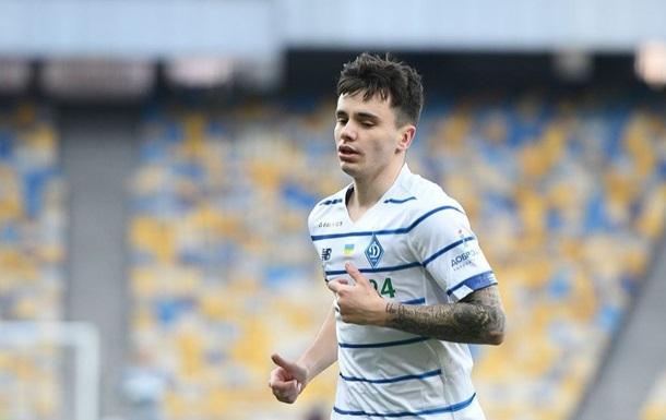 Шапаренко признали лучшим игроком киевского Динамо в сентябре