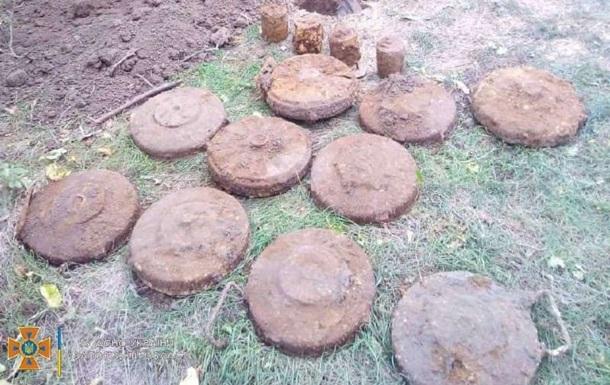 В Запорожской области во дворе частного дома нашли мины времен войны