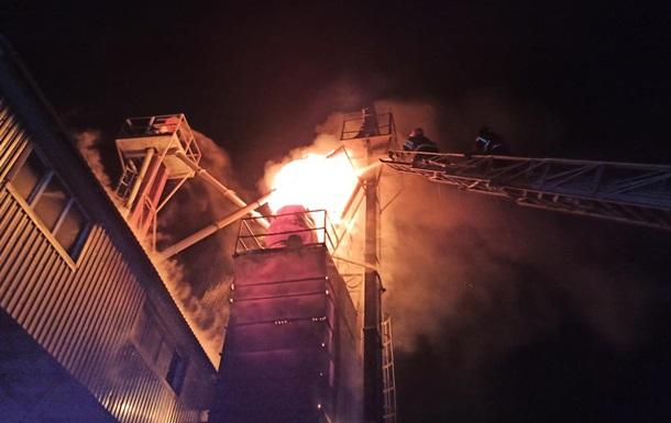 У Хмельницькій області згоріло 12 тонн зерна