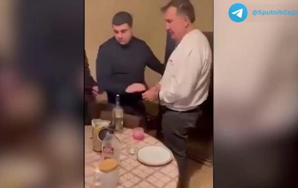 З явилося відео арешту Саакашвілі в квартирі