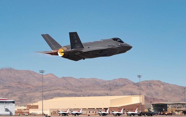США випробували винищувачі F-35 для термоядерного удару