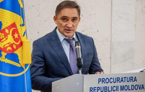 Генпрокурор Молдовы отстранен из-за подозрений в коррупции