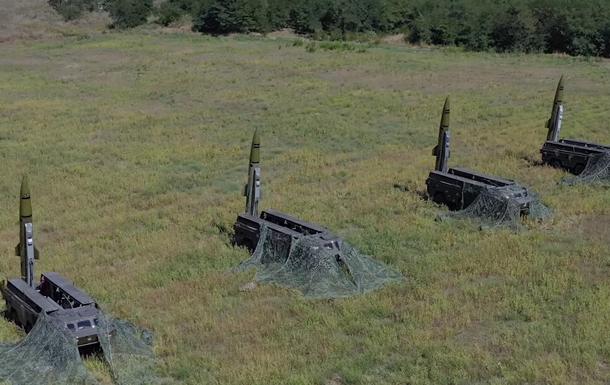 ВСУ провели учения экипажей Точки-У