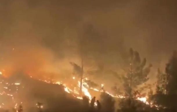 В Турции снова горят леса