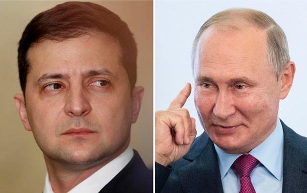 СМИ: РФ предложила условия встречи Путин-Зеленский