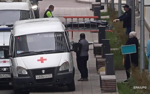У Росії за добу рекордна кількість смертей від коронавірусу