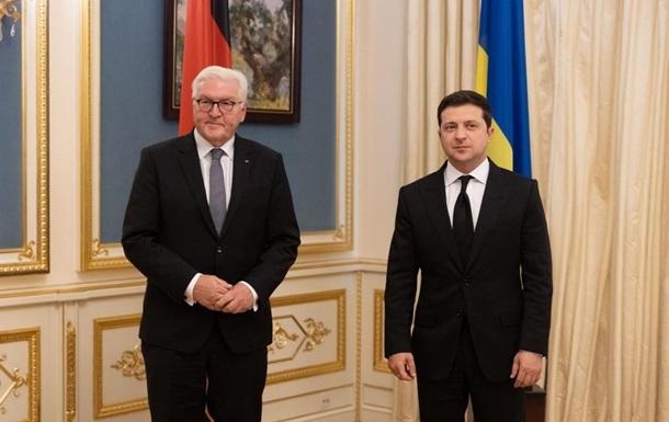 Зеленский и Штайнмайер обсудили СП-2 и Донбасс