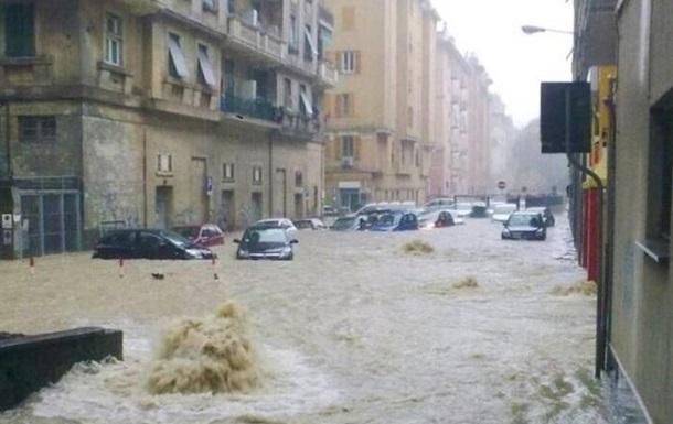 Дожди в Италии установили новый европейский рекорд