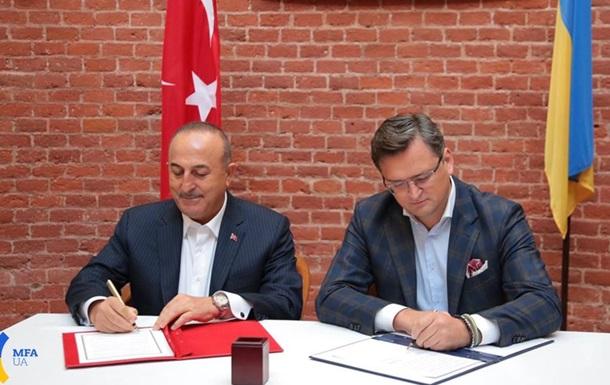 Глави МЗС України і Туреччини зустрілися у Львові