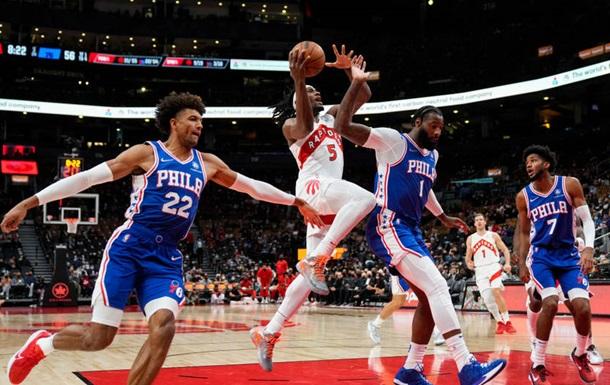НБА: Торонто Михайлюка програв Філадельфії