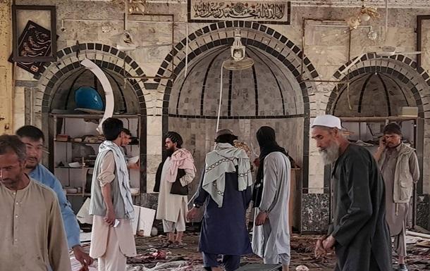 Теракт в Афганистане: талибы насчитали почти 50 погибших