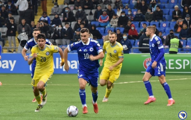 Відбір ЧС-2022: Боснія і Герцеговина на виїзді обіграла Казахстан