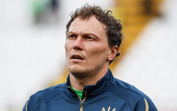 П ятов став найстарішим гравцем в історії збірної України
