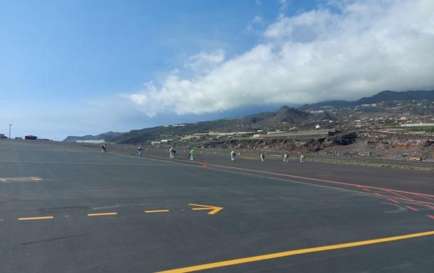 На канарском острове Ла Пальма возобновил работу аэропорт