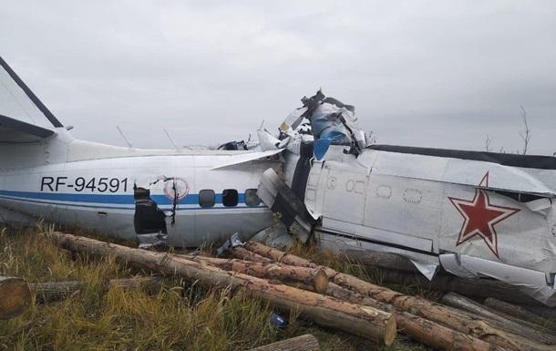 У Росії впав літак з парашутистами, 16 жертв