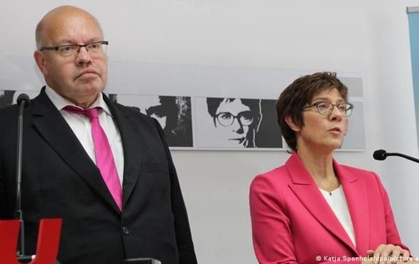 Міністри оборони та економіки Німеччини відмовилися від мандатів