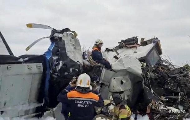 Глава Татарстану назвав попередню причину авіакатастрофи