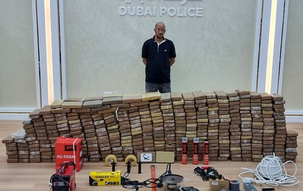 У Дубаї в ході рейду вилучили кокаїну на суму $136 мільйонів