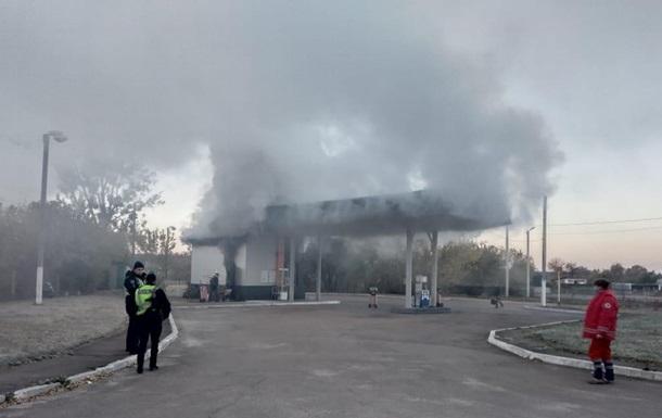 В Житомирской области при пожаре на АЗС найден труп